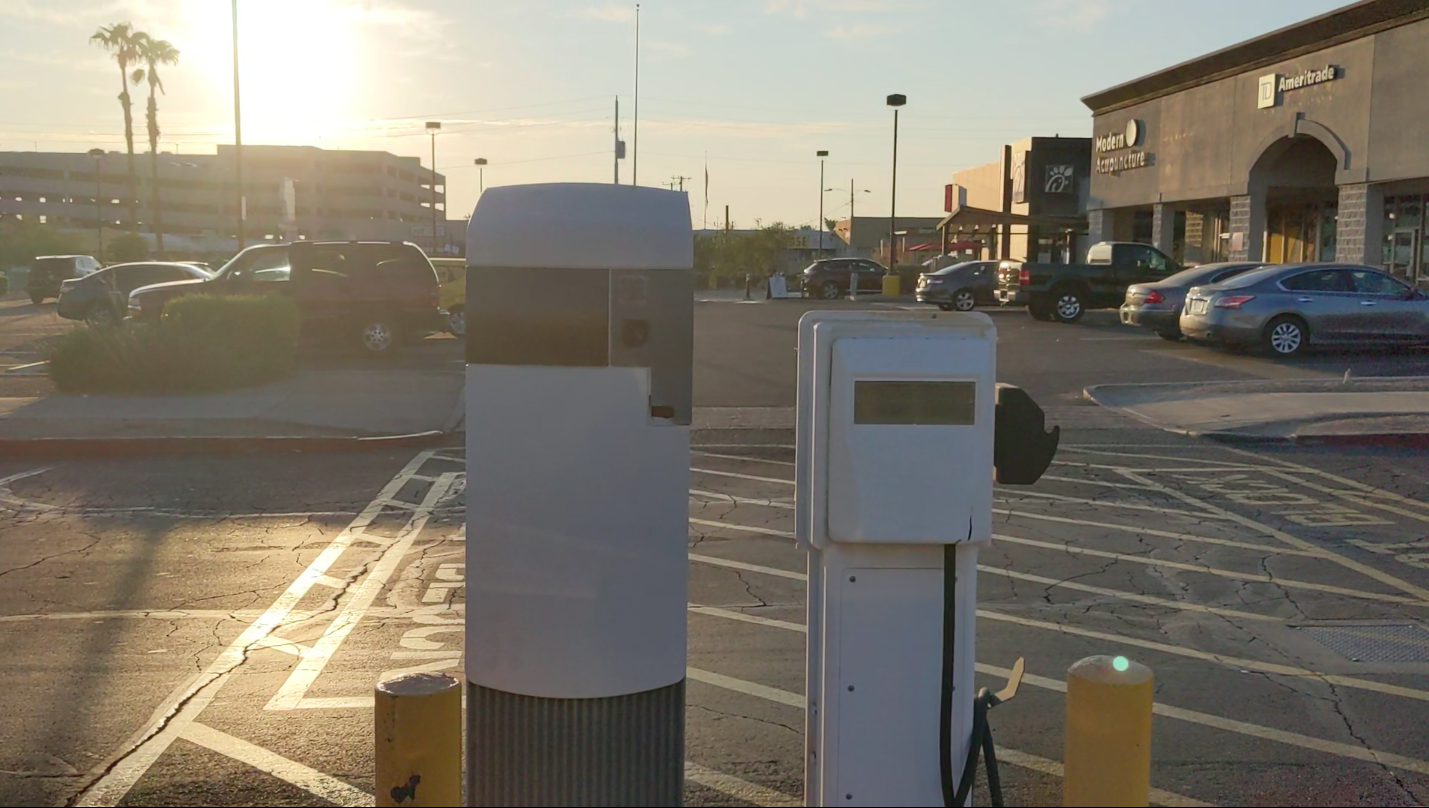 My Model 3 charged off a piece of history: Avcon
